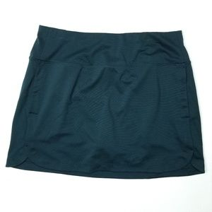 Athleta skort summer active skirt shorts EUC Large
